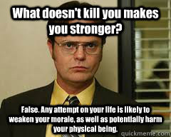 Dwight Schrute= Love/Hate