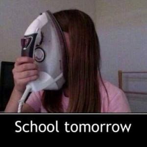 no school tomorrow funny