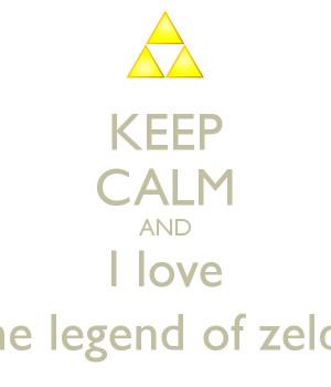legend of zelda i love you