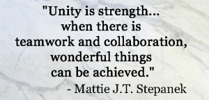 Inspiring quotes about team work