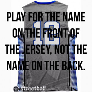 Basketball quote!