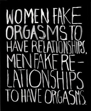 Funny men women relationships fake