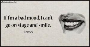 InspirationalQuotes.Club-mood , smile , Grimes
