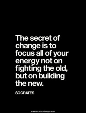 Inspirational quotes change