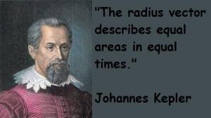 Johannes kepler famous quotes