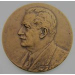 Image 1 HISTORIAN JACQUES PIRENNE MEDAL by ALFRED COURTENS