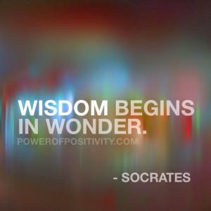 ... 15 Best Socrates Picture Quotes - Wisdom begins in wonder - Socrates