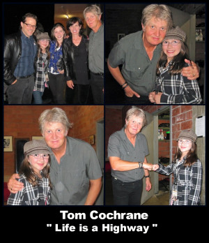 Sabrina and The Argues with Tom Cochrane