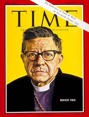 James A. Pike, fully Bishop James Albert Pike