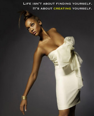 Tyra Banks Quote!