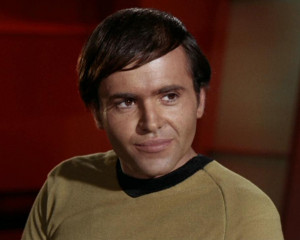For the alternate reality counterpart, please see Pavel Chekov ...