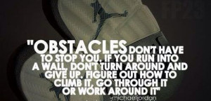Overcome all obstacles #Quotes