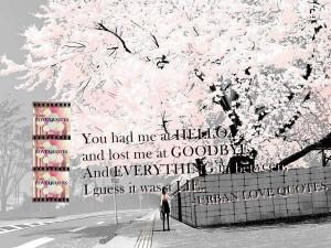 Urban love quotes