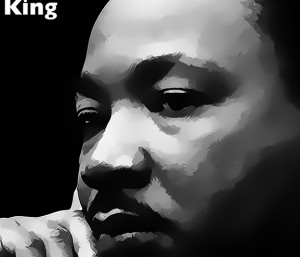 martin luther king silence quote on canvas martin luther king silence ...