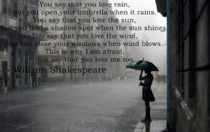 ... sweet quote love attractive quote summer quote fell in love rain quote