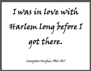 Langston Hughes Harlem Quote