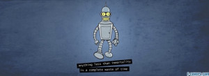 futurama bender quotesr facebook cover for timeline