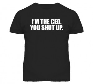 Kenny Powers Im The Ceo Funny Quote T Shirt