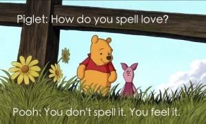 How do you spell love?
