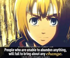 Armin Arlert Quotes
