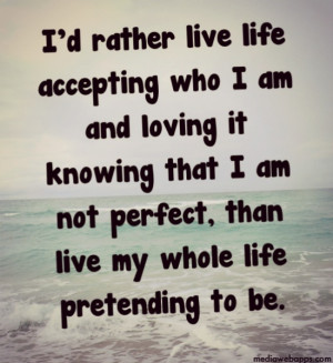 accept who i am quotes