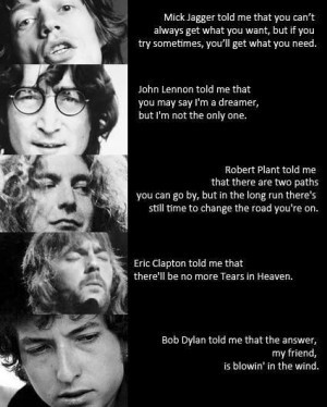 Great quotes by great singers