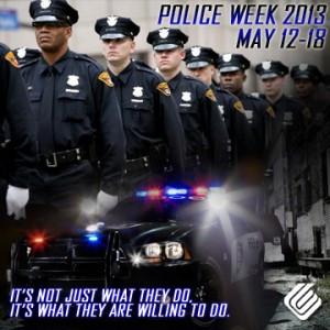Police Week runs from May 12-18