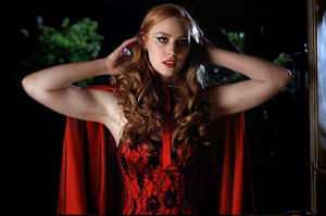 ... thing. Jessica as Little Red Riding Hood? That's just not fair