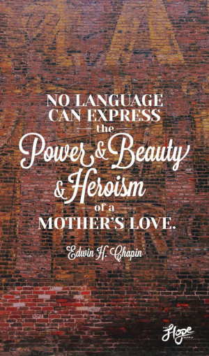 Mother's Day! Honor a mom.