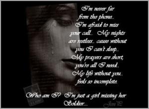 miss my soldier