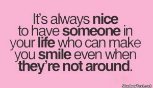 Smile When They're Not Around