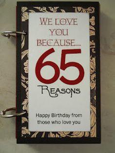 ! Moms 65Th Birthday, Mom Birthday, 65 Birthday Ideas, 65Th Birthday ...