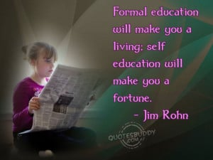 Formal Education Educational Quetes