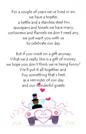 Wedding Wishes Poems Quotes