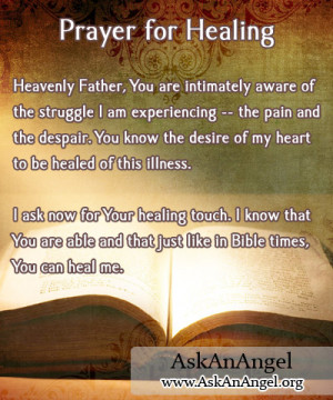 quotes about praying for healing quotesgram