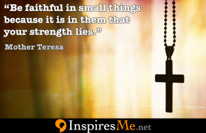 Mother Teresa Motivation Picture