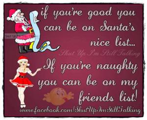 Funny Christmas Image Santa