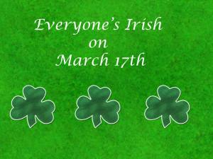 Irish St. Patrick's Day Sayings
