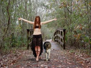 Wolf Girl: by KZ-W