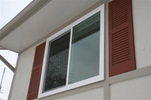 Again, another aluminum frame single pane window.