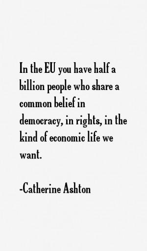Catherine Ashton Quotes & Sayings