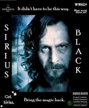 Sirius Black Sirius Quotes