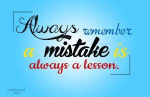 Mistake Quotes and Sayings