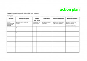Tier Action Plan Template