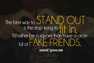 Fake People Quotes & Sayings
