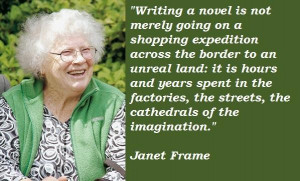 Janet frame famous quotes 5