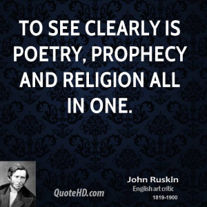 See Clearly Poetry Prophecy