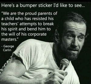 Home Inspiration Articles & Blogs Proud Parents by George Carlin