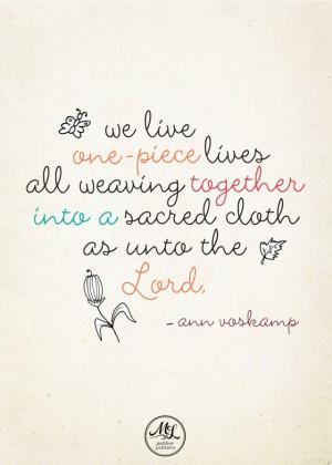 Ann Voskamp Gratitude: