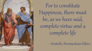 Aristotle Virtues And Happiness